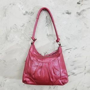 8e2b74bc4978 Genna DeRossi Bags - GENNO DE ROSSI Raspberry Pink Satchel Purse Bag
